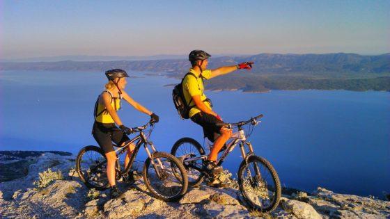 Mountain bike Otok Brač