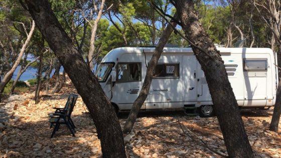 Kamp parcela u dalmaciji