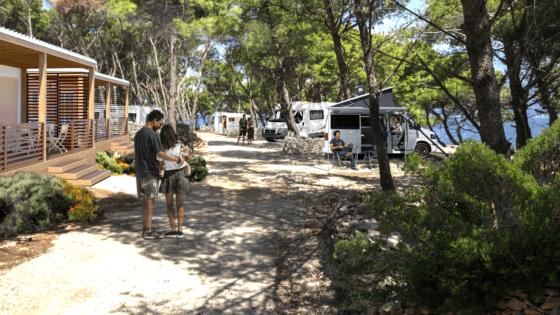 Die unterkunft in dalmatia