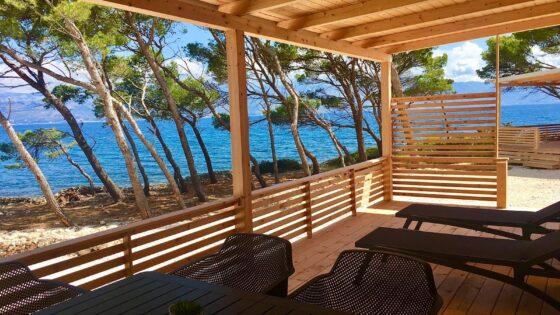 Mobilheime direkt am Meer in Kroatien